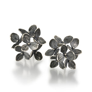 John Iversen 6 Part Small Hydrangea Studs | Quadrum Gallery