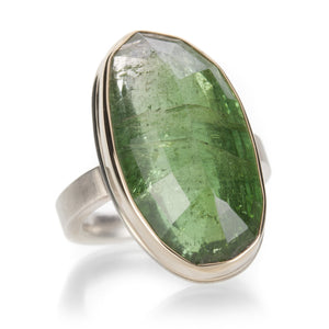 Jamie Joseph Inverted Green Tourmaline Ring | Quadrum Gallery