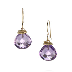 Jamie Joseph Amethyst Drop Earrings | Quadrum Gallery