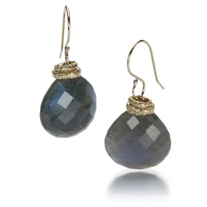 Jamie Joseph Large Faceted Labradorite Earrings | Quadrum Gallery