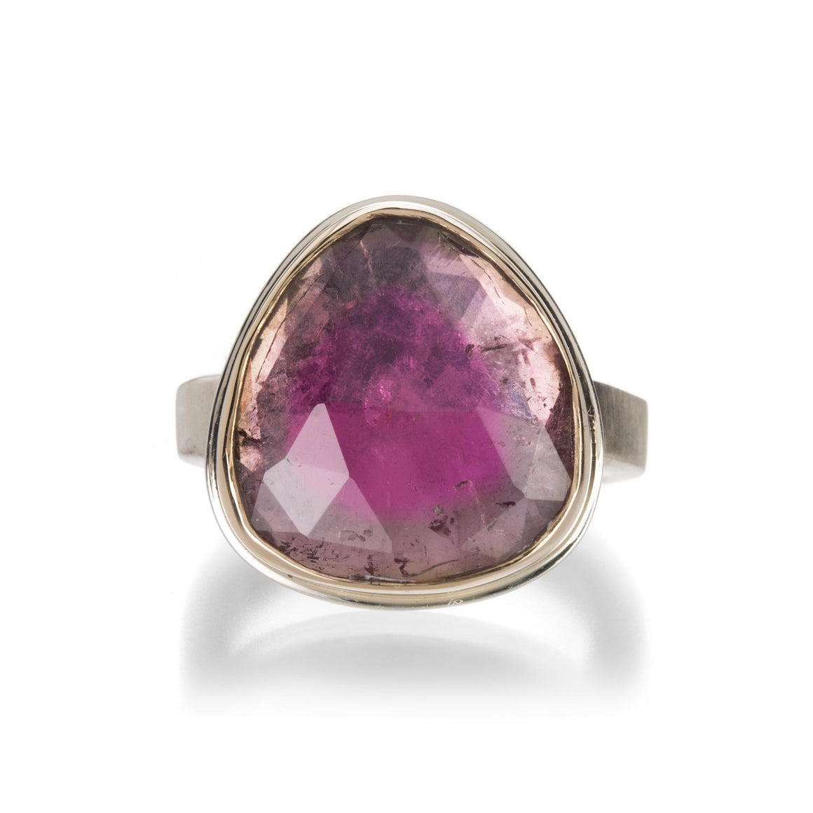Jamie Joseph Rosecut Watermelon Tourmaline Ring | Quadrum Gallery