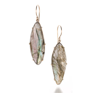 Jamie Joseph Marquise Labradorite Earrings | Quadrum Gallery