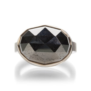 Jamie Joseph Rose Cut Pyrite Ring | Quadrum Gallery
