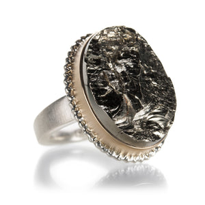Jamie Joseph Surface Pyrite Ring | Quadrum Gallery