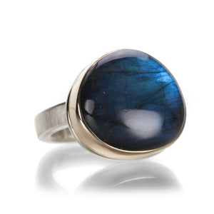 Jamie Joseph Smooth Labradorite Ring | Quadrum Gallery