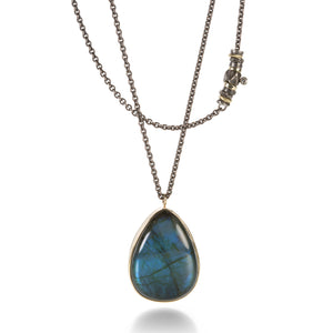 Jamie Joseph Teardrop Labradorite Necklace | Quadrum Gallery