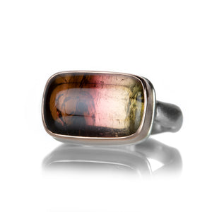 Jamie Joseph Rectangular Pink Tourmaline Ring | Quadrum Gallery