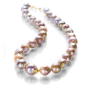 Lilly Fitzgerald Freshwater Chinese Baroque Pearl Necklace | Quadrum Gallery