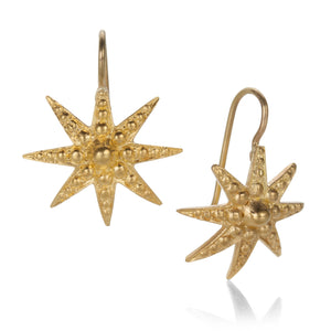 Lilly Fitzgerald Granulated Star Drop Earrings | Quadrum Gallery