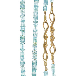 Lilly Fitzgerald Double Apatite Necklace | Quadrum Gallery