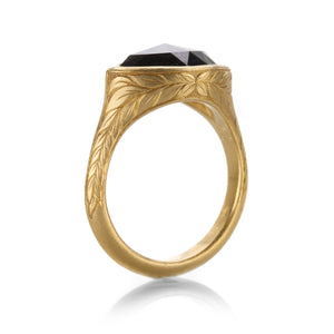 Lilly Fitzgerald Black Marquise Diamond Ring | Quadrum Gallery