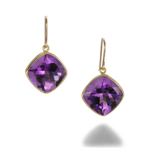 Maria Beaulieu Amethyst Earrings | Quadrum Gallery