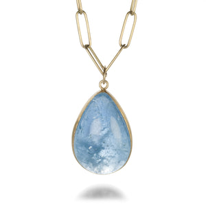 Maria Beaulieu Deep Blue Aquamarine Pendant (Pendant Only) | Quadrum Gallery