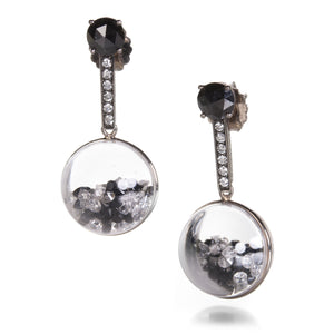 Moritz Glik Kaleidoscope Globe Shaker Earrings | Quadrum Gallery