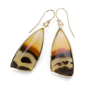 Margaret Solow Piranha Agate Earrings | Quadrum Gallery