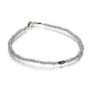 Margaret Solow Labradorite and Diamond Bracelet II | Quadrum Gallery