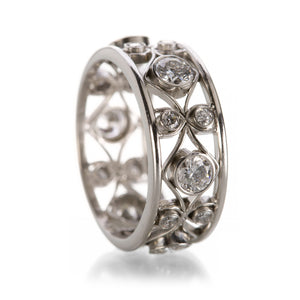 Nathan Levy Diamond Filigree Band | Quadrum Gallery
