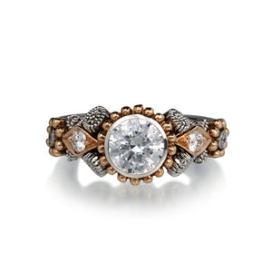 Nathan Levy Cupcake Engagement Ring | Quadrum Gallery