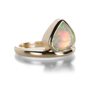 Nicole Landaw Small Offsides Opal Ring | Quadrum Gallery