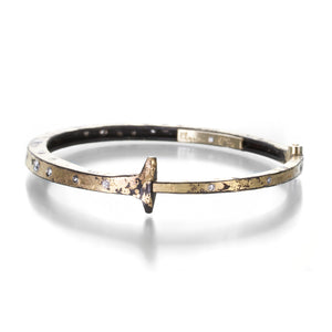 Pat Flynn Super Dust Nail Bracelet with Diamonds | Quadrum Gallery