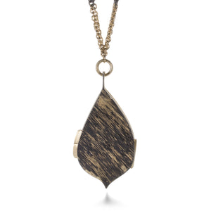 Pat Flynn Leaf Locket | Quadrum Gallery