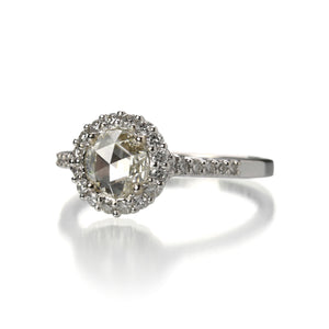 Paul Morelli Rose Cut Diamond Engagement Ring | Quadrum Gallery