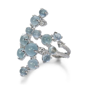 Paul Morelli Aquamarine Bubble Ring | Quadrum Gallery