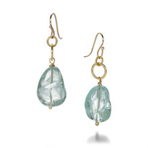 Rosanne Pugliese Tourmaline Bead Earrings | Quadrum Gallery