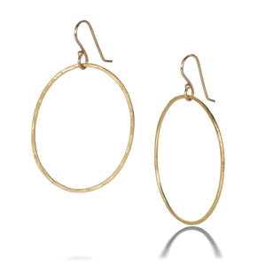 Rosanne Pugliese Oval Drop Earrings | Quadrum Gallery