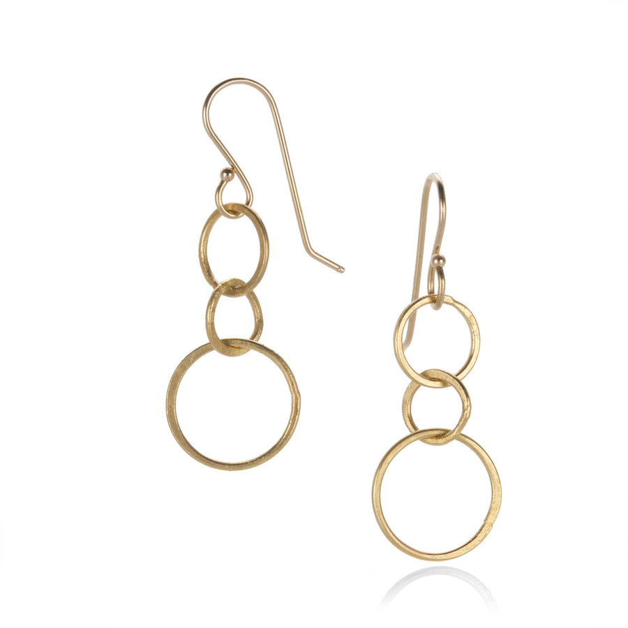 Rosanne Pugliese Small Triple Circle Earrings | Quadrum Gallery
