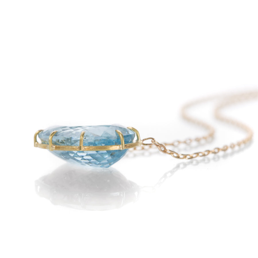 Rosanne Pugliese Blue Green Beryl Necklace | Quadrum Gallery