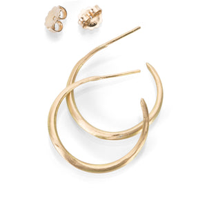 Rosanne Pugliese Organic Hoop Earrings | Quadrum Gallery