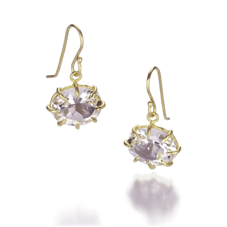 Rosanne Pugliese Rose Lavender Amethyst Earrings | Quadrum Gallery