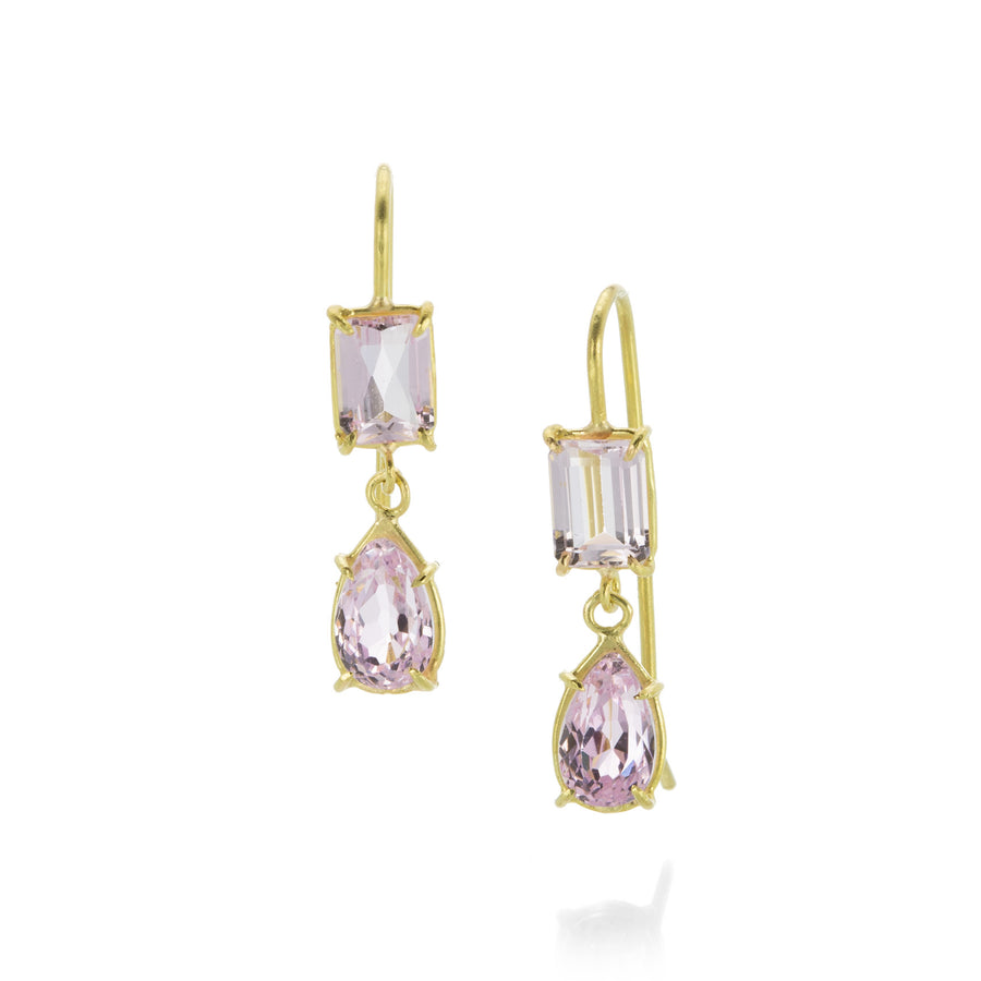 Rosanne Pugliese Kunzite Double Drop Earring | Quadrum Gallery