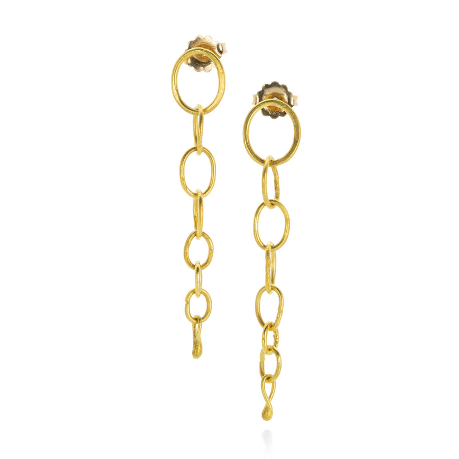 Rosanne Pugliese Graduated Oval Dangle Earrings | Quadrum Gallery