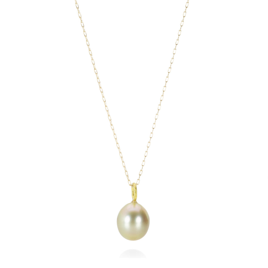 Rosanne Pugliese Golden South Sea Pearl Necklace | Quadrum Gallery