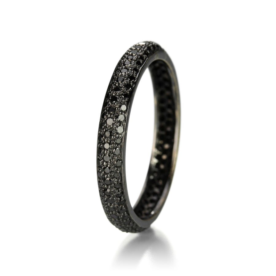 Sethi Couture Black Diamond Pave Tire Band | Quadrum Gallery