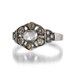 Sethi Couture Old Mine Cut and Rose Cut Diamond Ring | Quadrum Gallery