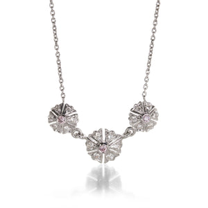 Sethi Couture Three Flowers Necklace | Quadrum Gallery