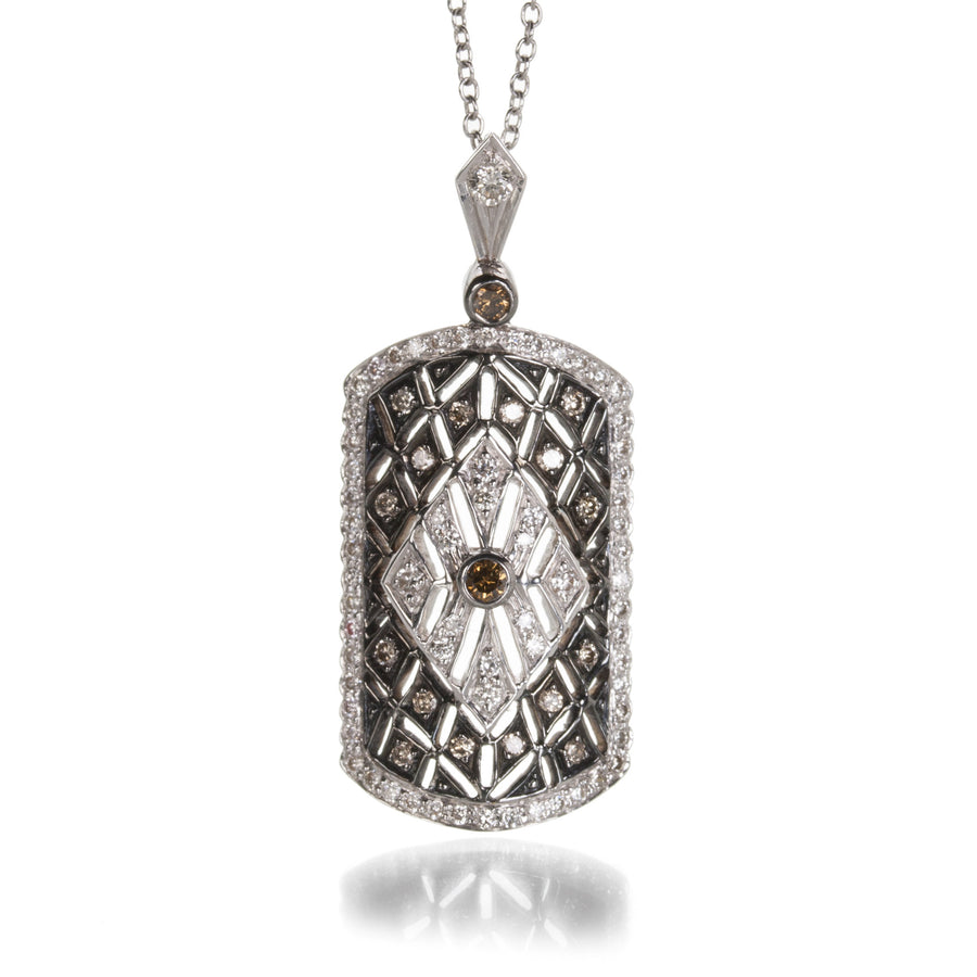 Sethi Couture Mixed Diamond Deco Pendant | Quadrum Gallery