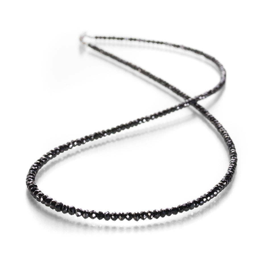 Sethi Couture Black Diamond Beaded Necklace | Quadrum Gallery
