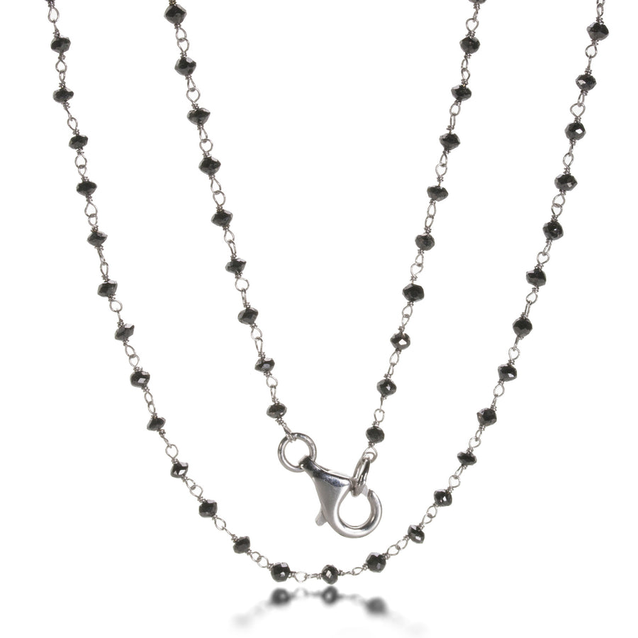 Sethi Couture Black Diamond Wrapped Necklace | Quadrum Gallery