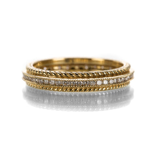 Sethi Couture Diamond Channel Rope Band | Quadrum Gallery