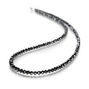 Sethi Couture Graduated Black Diamond Necklace | Quadrum Gallery