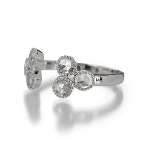 Sethi Couture Split Rose Cut Diamond Ring | Quadrum Gallery