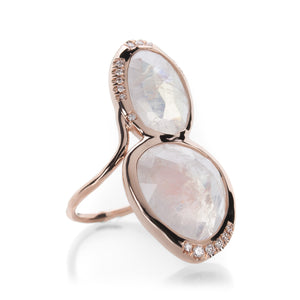 Sirciam Moonstone Superstition Ring | Quadrum Gallery