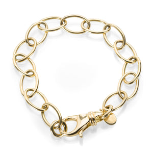 Single Stone Oval Link Sport Bracelet | Quadrum Gallery