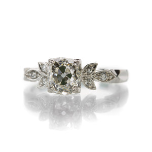 Single Stone Annabelle Engagement Ring | Quadrum Gallery