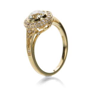 Single Stone Sasha Engagement Ring | Quadrum Gallery