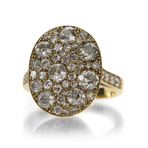 Single Stone Cobblestone Diamond Ring | Quadrum Gallery
